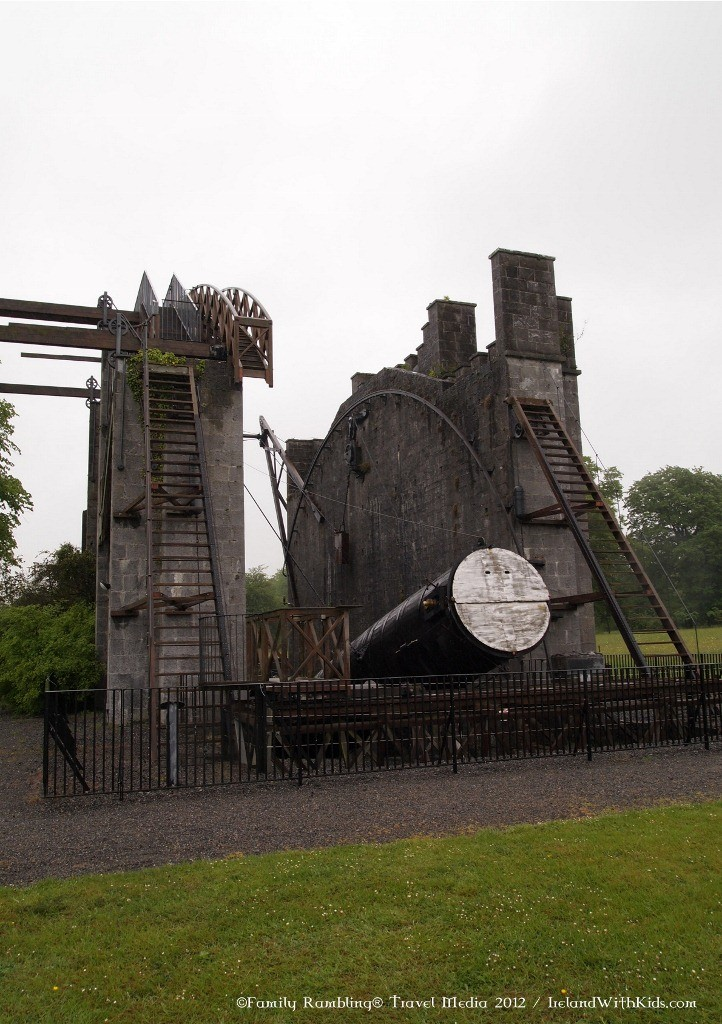Ireland's Historic Science Centre at Birr Castle in Ireland