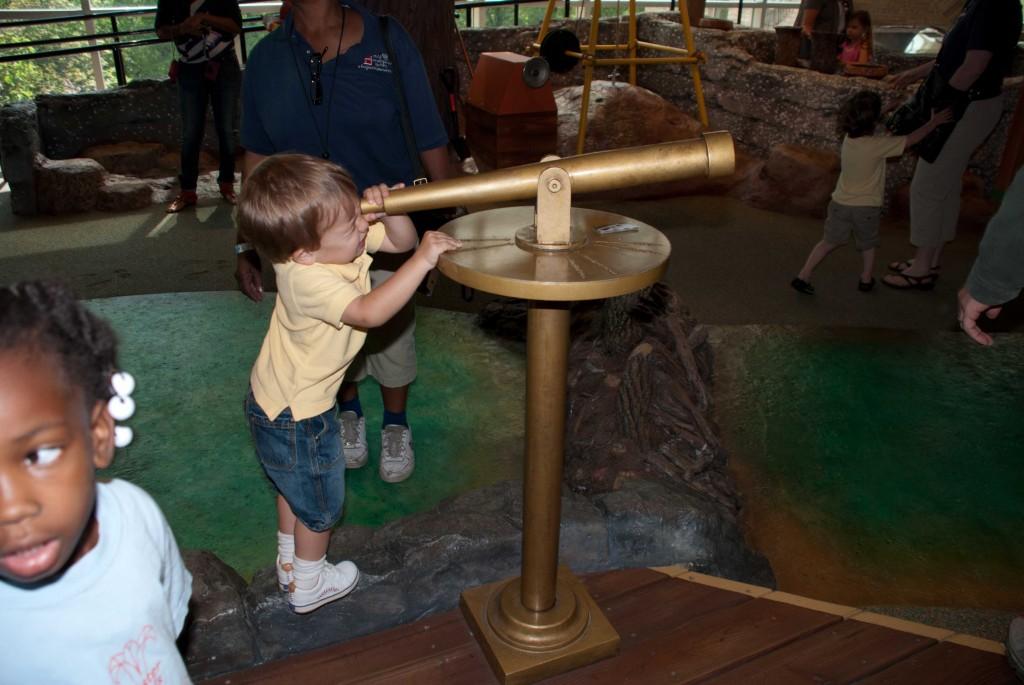 Exploring NatureQuest at Fernbank Museum in Atlanta