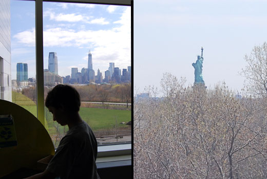 Liberty Science Center views