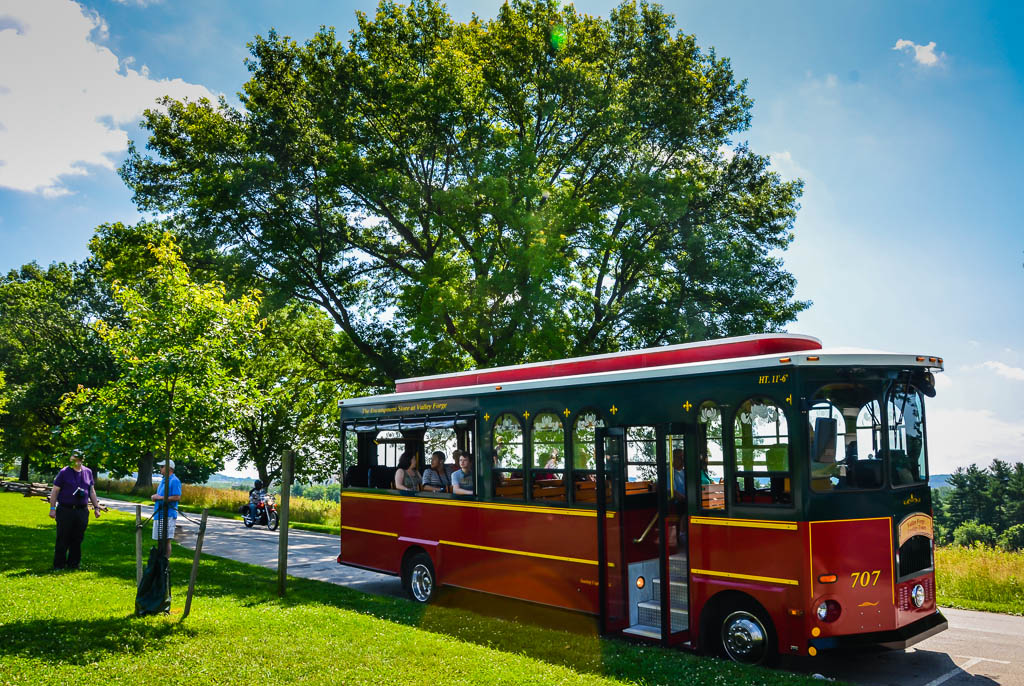 Valley Forge Trolley Tour