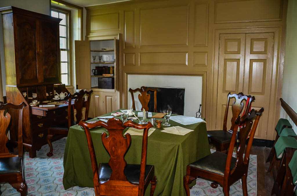 Inside Washington's Headquarters at Valley Forge