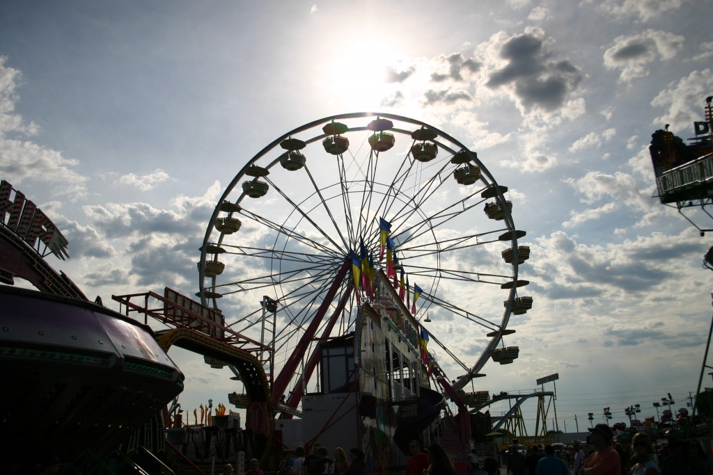 The Missouri State Fair in Sedalia, Missouri