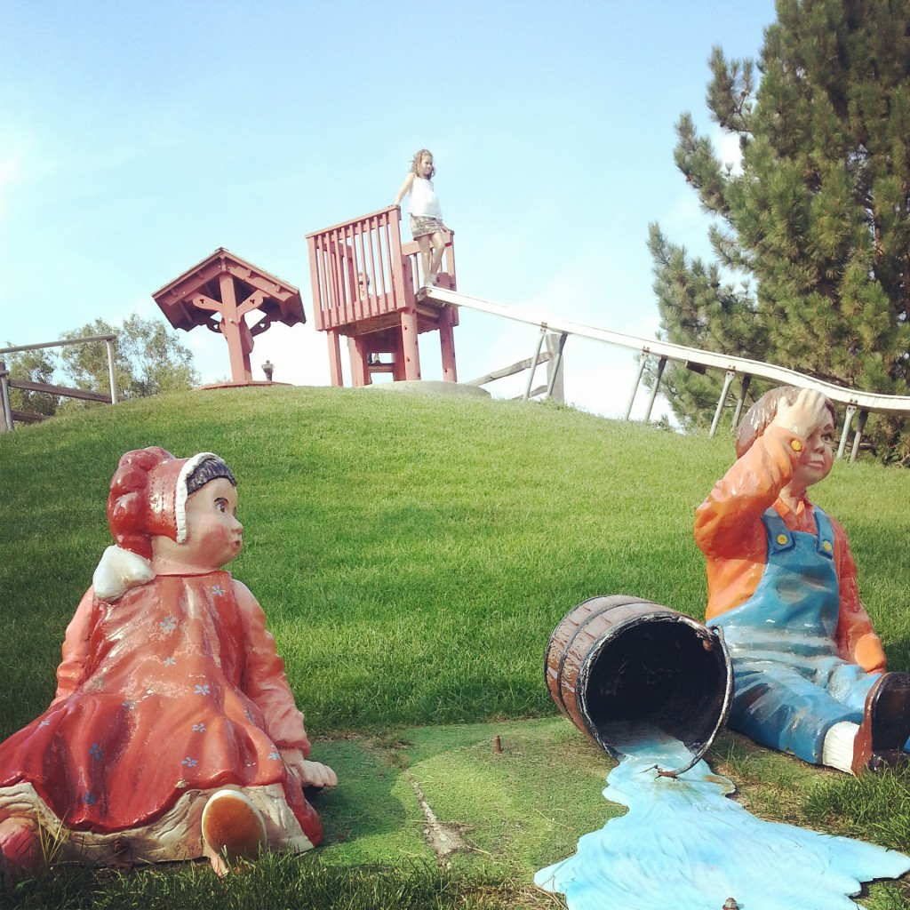 Jack & Jill at Storybook Land, Aberdeen, South Dakota