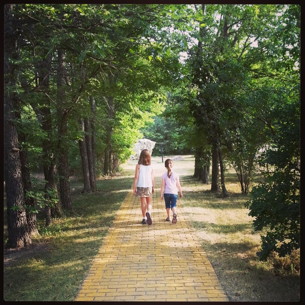 Yellow Brick Road, Land Of Oz, Storybook Land, Aberdeen, South Dakota