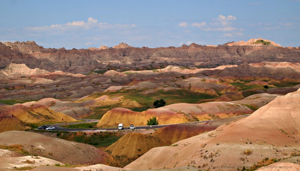 Yellow Mounds Overlook, Badlands National Park, South Dakota