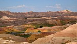 The Contrasts of Badlands National Park in South Dakota