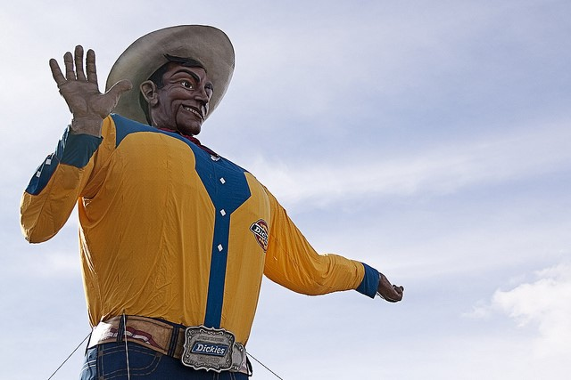 The state fair of texas in dallas has texas sized treats for big tex publicscrutiny Image collections