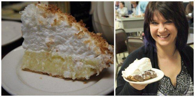 Pie at Paris Coffee Shop, Fort Worth, Texas