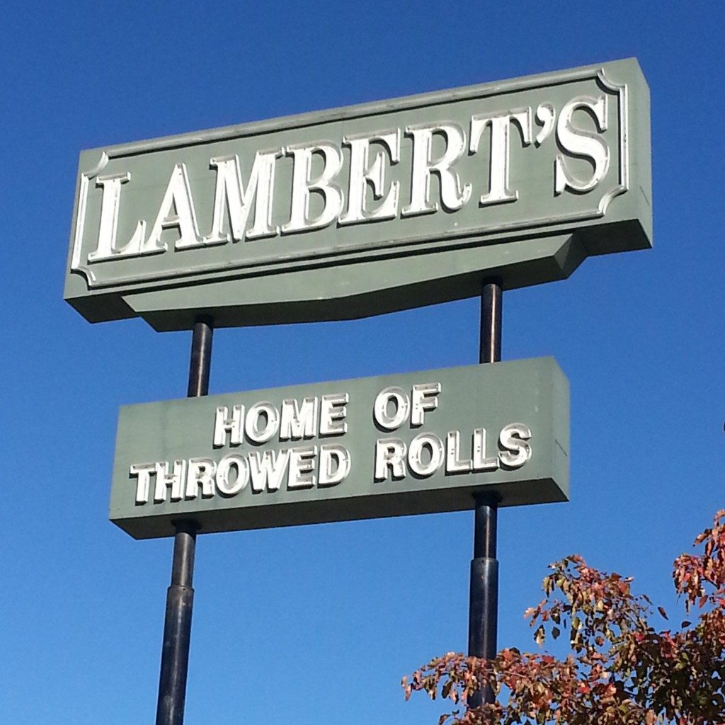 Hot Rolls! Dining at Lambert's – #IGTravelThursday