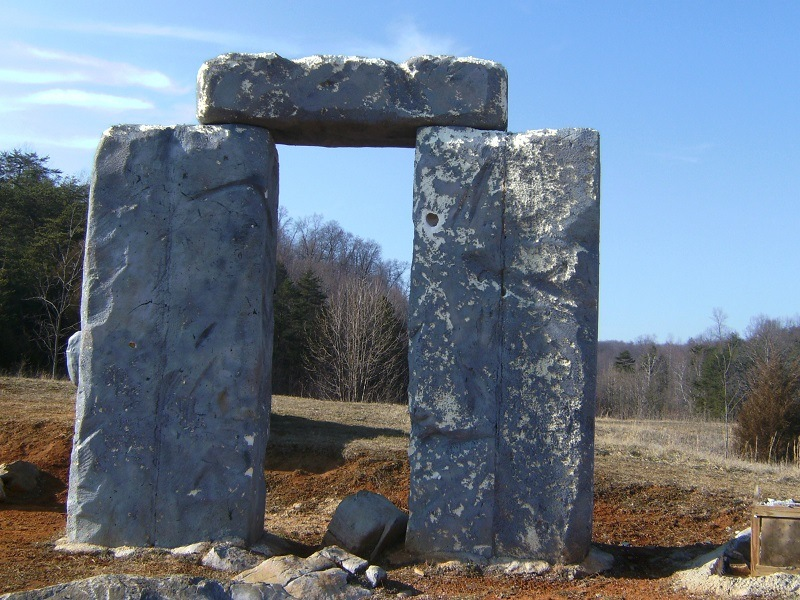 Foamhenge, an Exact Replica of Stonehenge… Mostly