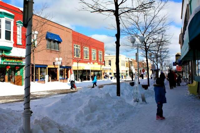 Downtown St. Joseph, Michigan