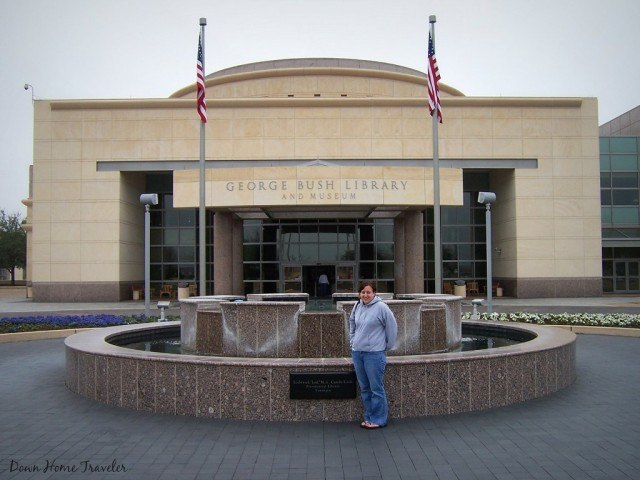 George H. W. Busch Presidential Library, college Station, TX