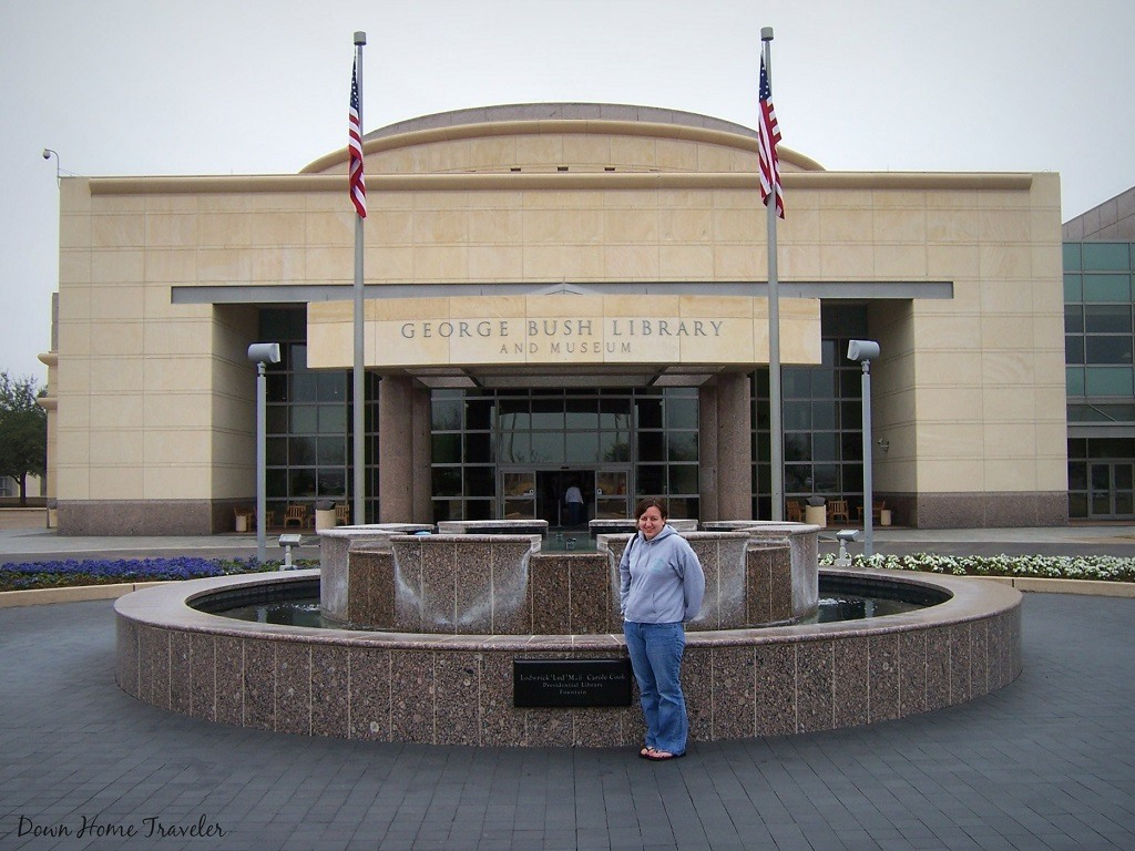 Visiting the George H. W. Bush Presidential Library and Museum in College Station, Texas
