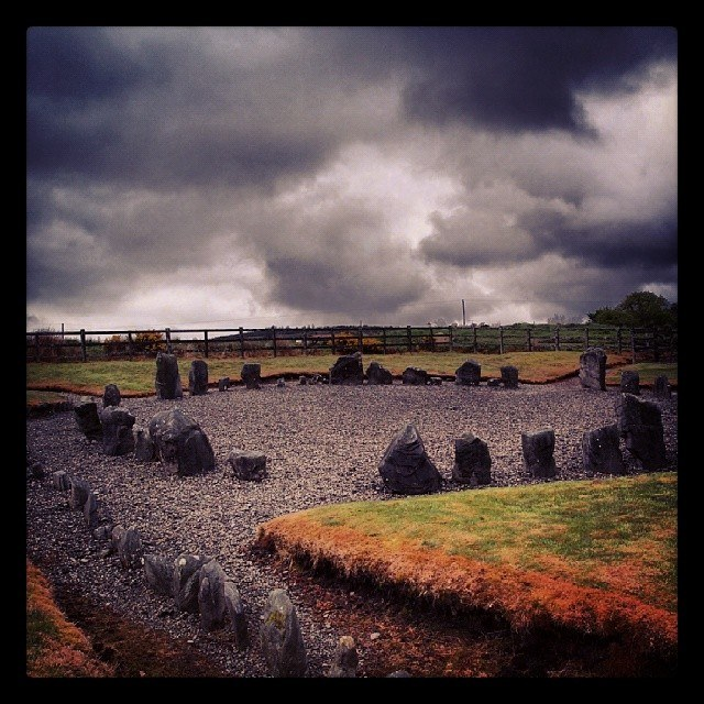 Drumskinney Stone Circle, County Fermanagh, Northern Ireland