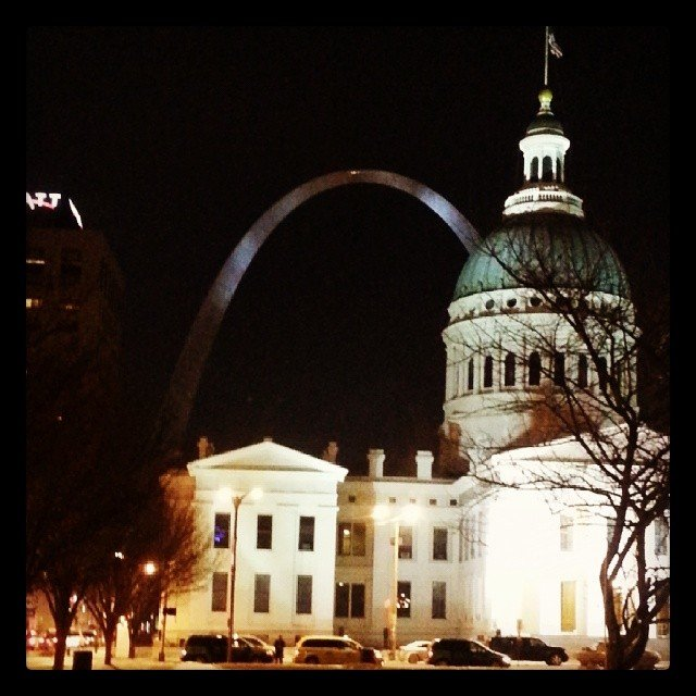 St Louis Arch- Gateway to the West  #IGTravelThursday