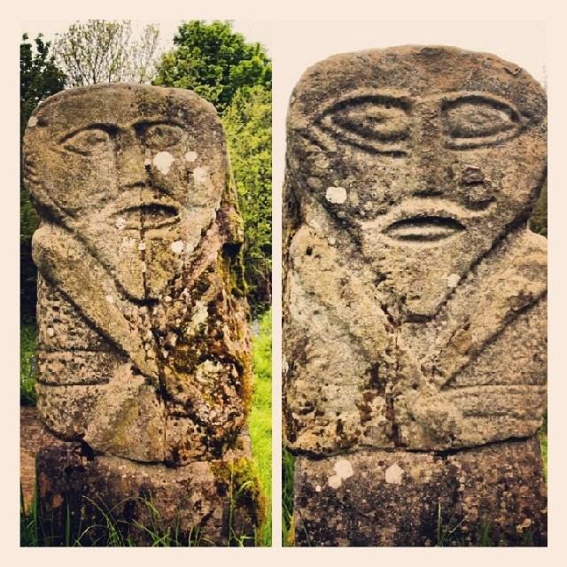 Janus figure, Boa Island, County Fermanagh, Northern Ireland