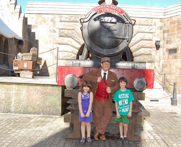 Hogwarts Express, Wizarding World of Harry Potter