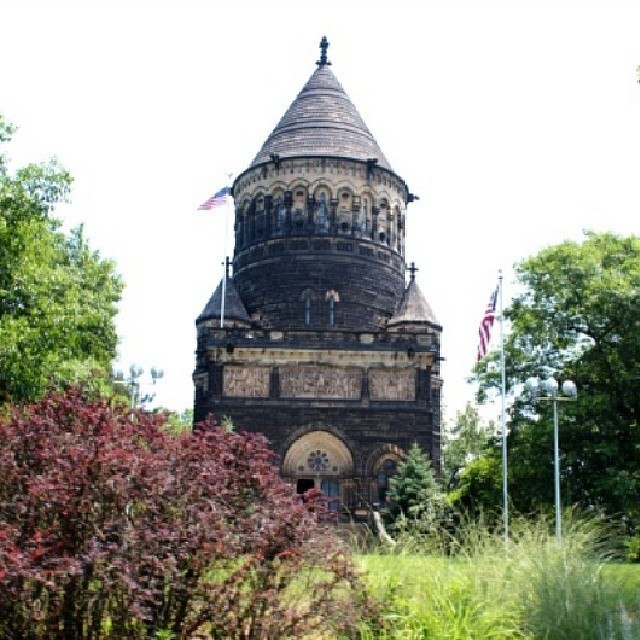 Garfield Memorial in Cleveland, Ohio