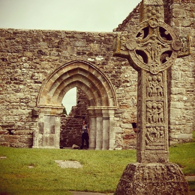 High Cross, Clonmacnoise, County Offaly, Ireland