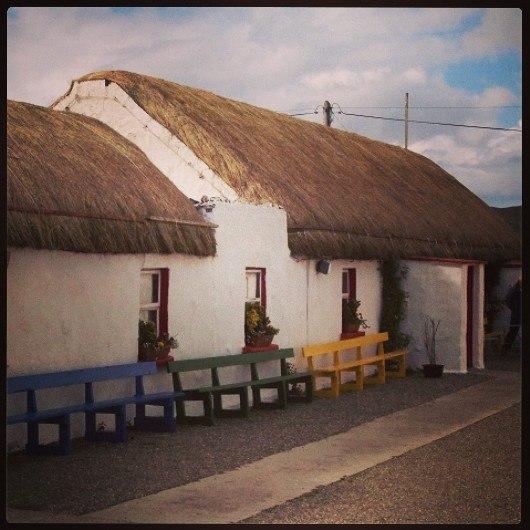Doagh Famine Village, Inishowen Peninsula, County Donegal, Ireland