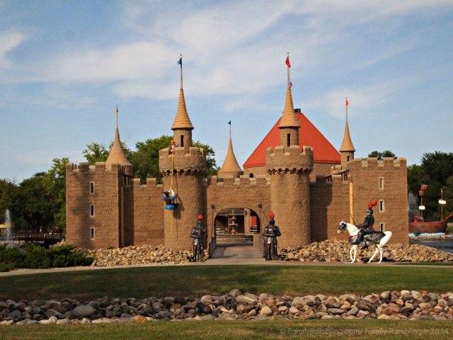 Storybook Land Medieval castle, Aberdeen, South Dakota