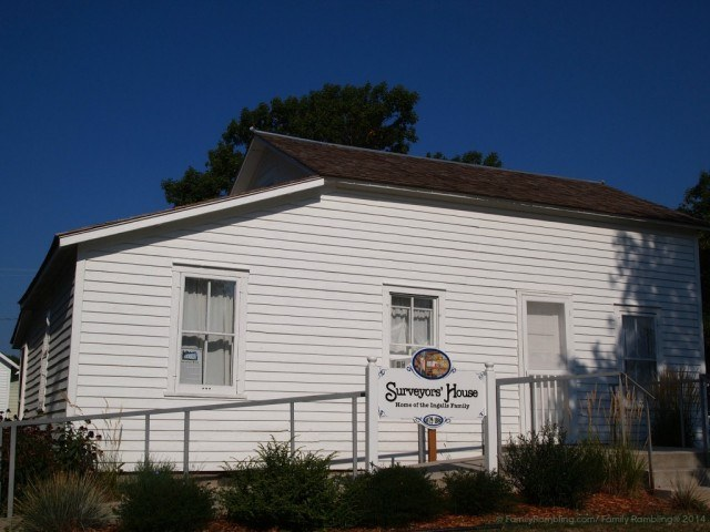 Surveyor's House, DeSmet, South Dakota, Laura Ingalls Wilder