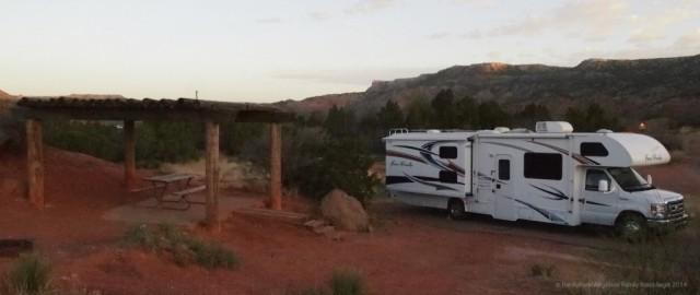 RV Camping Palo Duro Canyon, Amarillo, TX