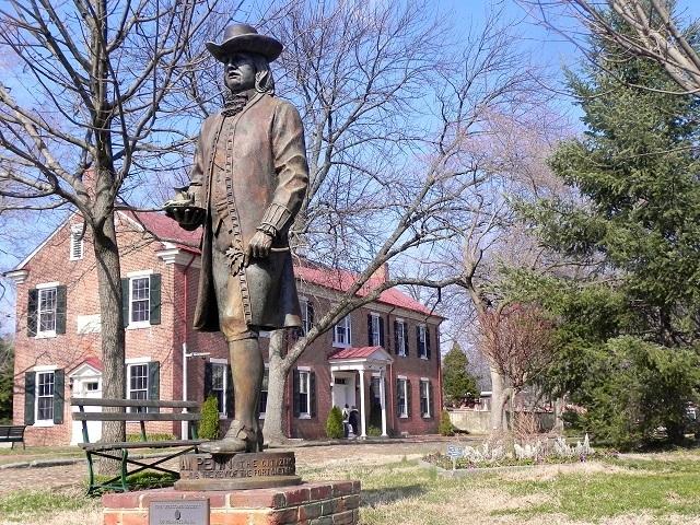 William Penn Statue, New Castle, Delaware
