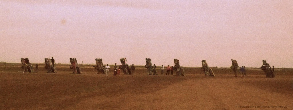 Roadside Curiosities:  Cadillac Ranch near Amarillo, Texas