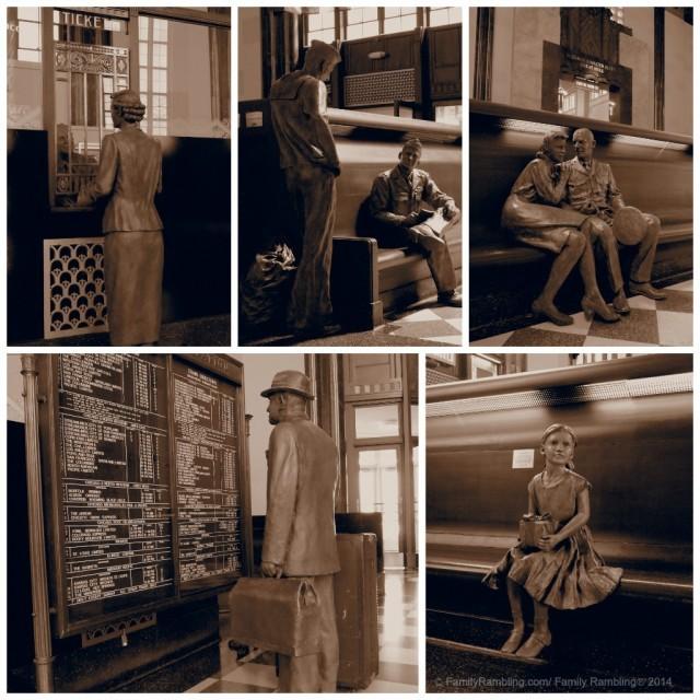 Durham Museum Statues