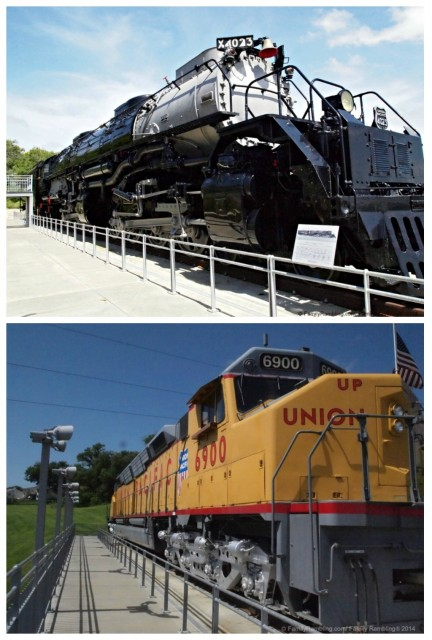 Locomotives Kennefick Park Omaha
