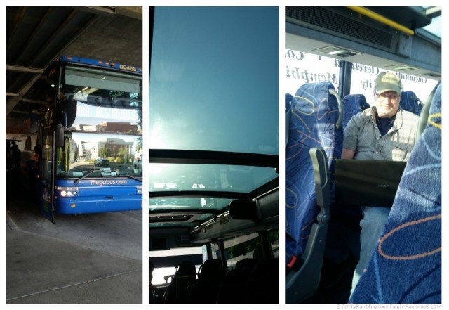 Megabus collage