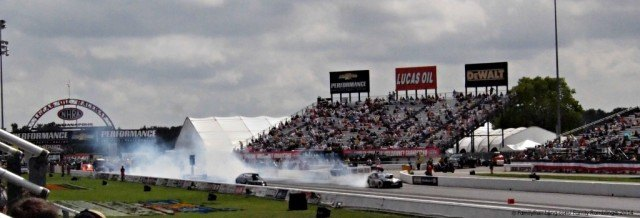 funny cars at the Chevrolet Performance  Nationals