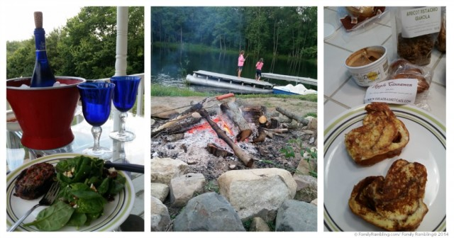 Eating our own cooking at Natural Valley Ranch, Hendricks County, Indiana