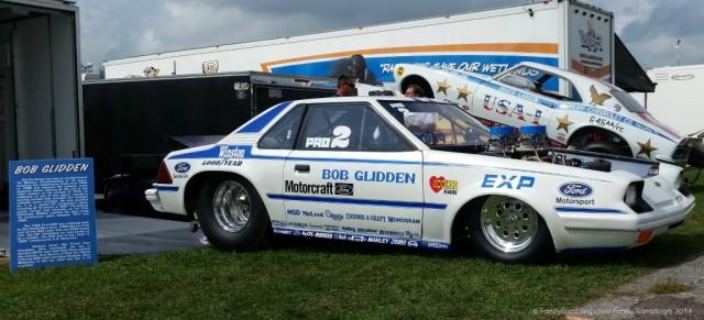 Ford EXP race car