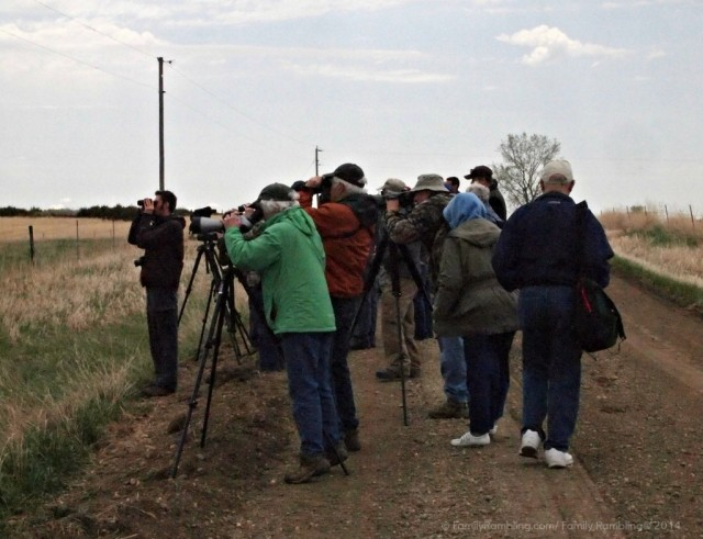 Avid bird watchers at South Dakota Birding Festival