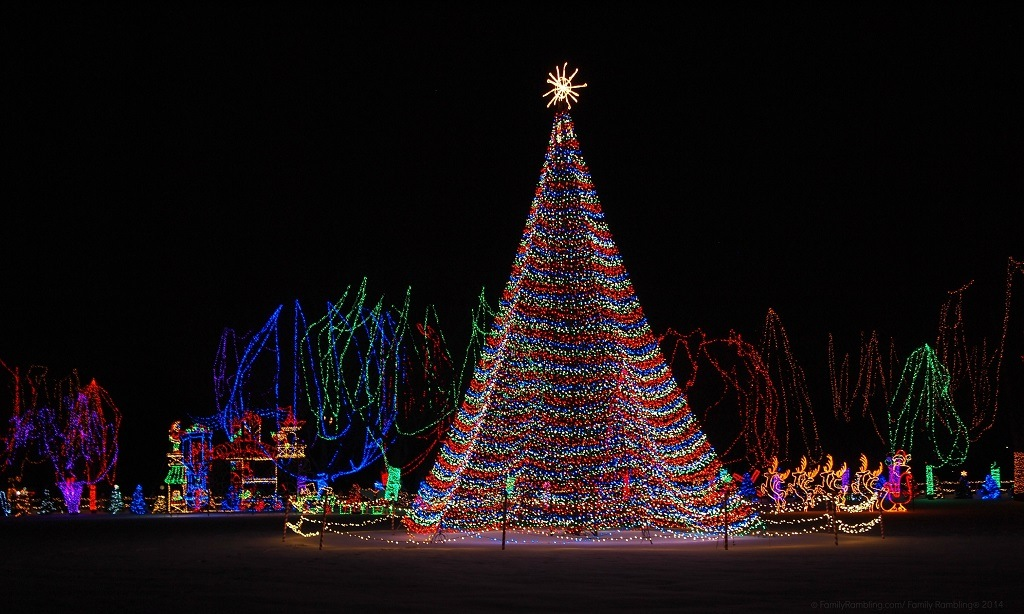 Mankato Christmas Lights Minnesota Fun Family Travel