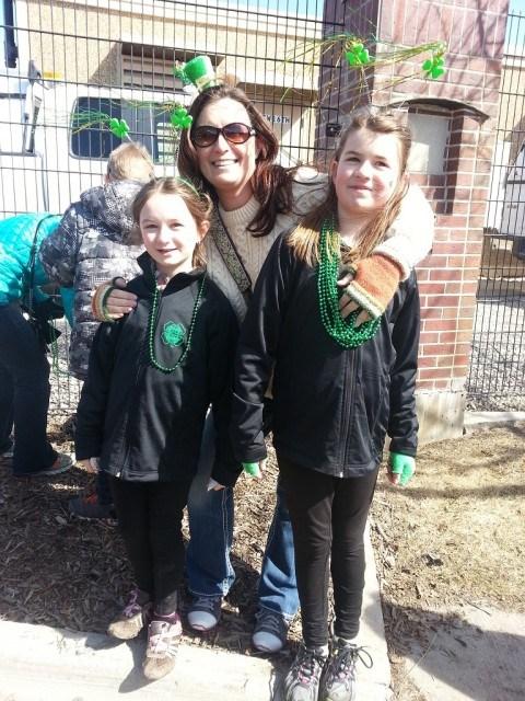 Pre-Parade. Happy St. Patrick's Day!