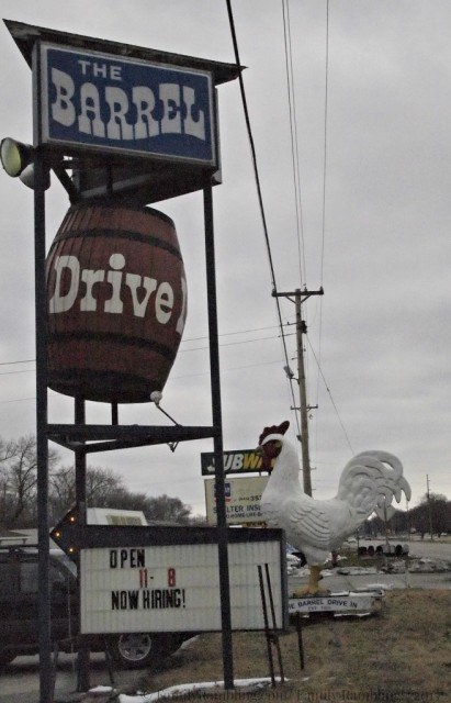 The Barrel Drive In, nostalgia & tasty food in Clear Lake, Iowa