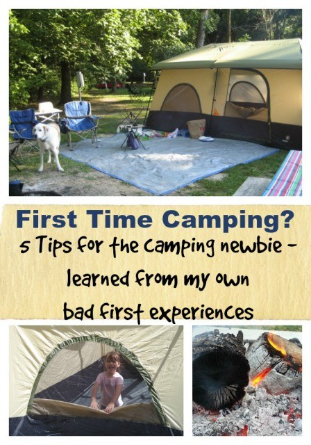 camping tips - 5 camping tips for newbies learned from my own bad first experiences