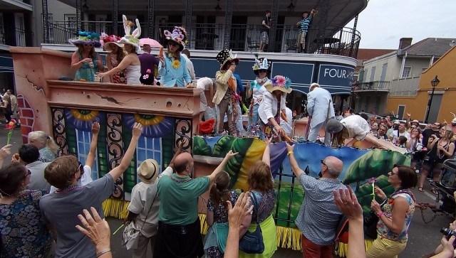 Chris Owens Easter Parade, French Quarter, New Orleans