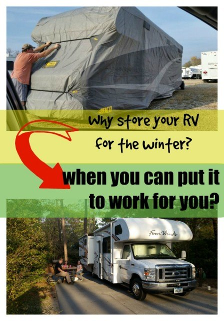 Put your RV to work for you! Renting our motorhome with a management company.
