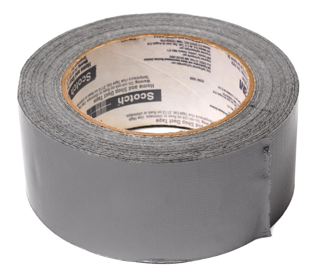 Duct Tape - a MUST for your camping supply bag!