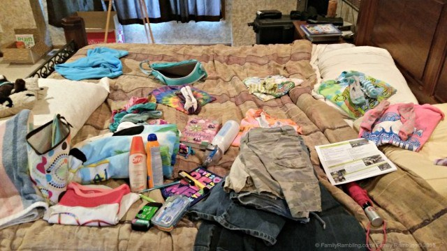 Summer Camp Packing list - summer camp packing tips