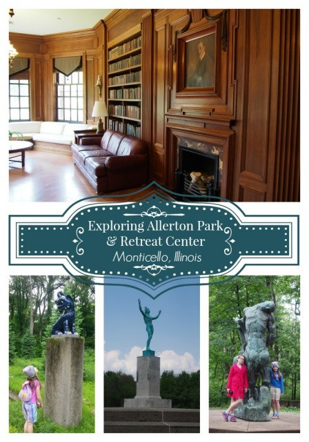 Exploring Allerton Park & Retreat Center in Monticello, Illinois. A must for your central Illinois vacation itinerary.