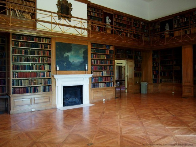 The Library at Allerton Park & Retreat Center, Monticello, IL