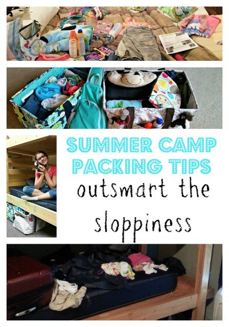 summer camp packing tips to outsmart the sloppiness
