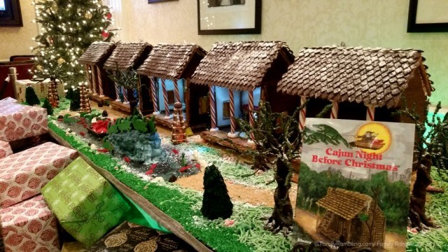 Gingerbread Cajun Night Before Christmas at Roosevelt Hotel. New Orleans Christmas travel tips.