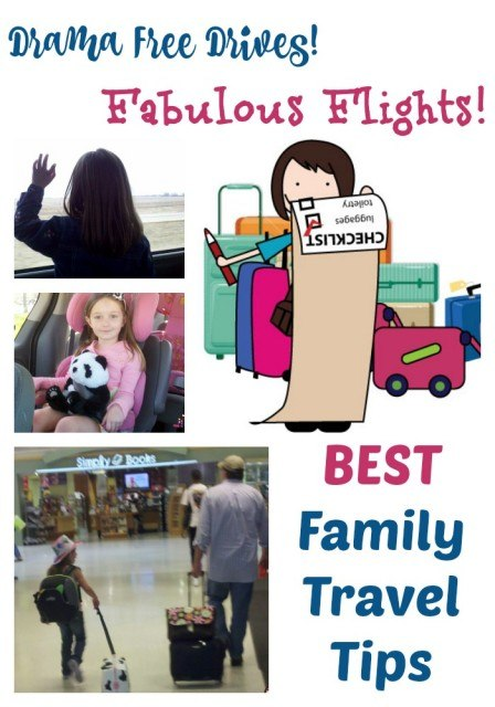 Best Family Travel Tips. Flying with kids. Road trip tips.