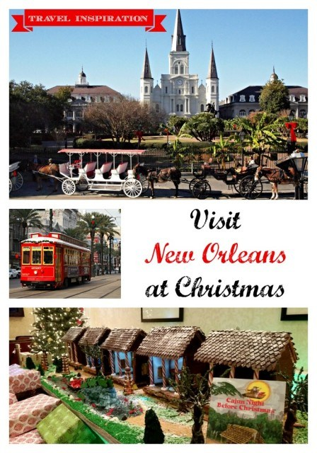 Visit New Orleans at Christmas Time. New Orleans travel tips. New Orleans vacation